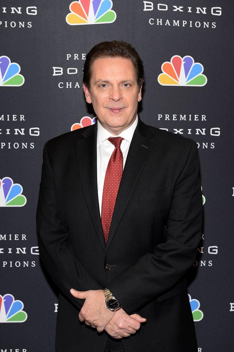 Kenny Rice KENNY RICE NBC Sports Pressbox
