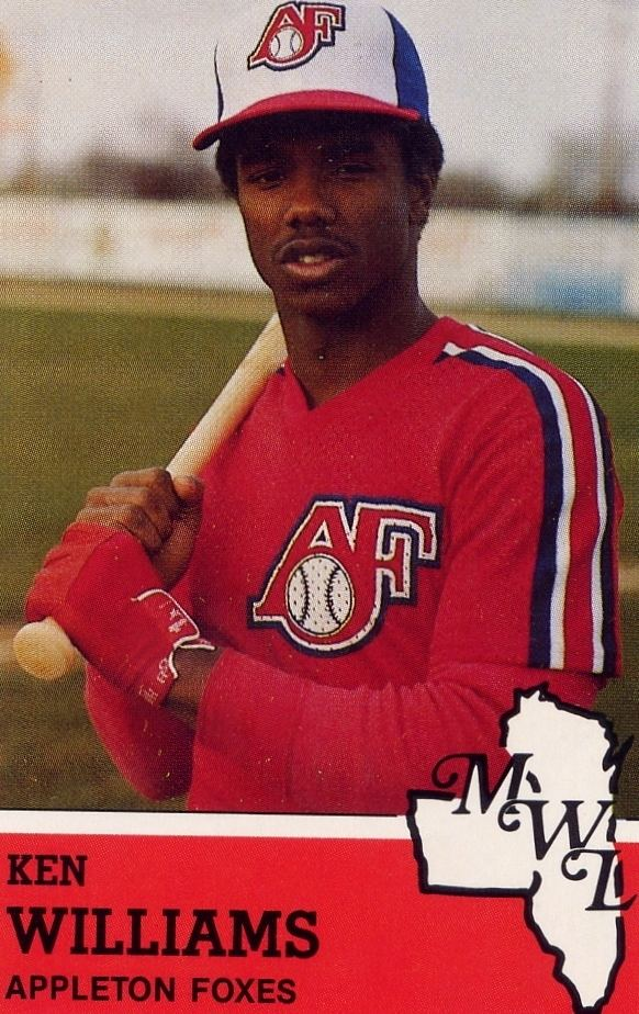 Kenny Williams (baseball) Appleton Baseball Hall of Fame Wisconsin Timber Rattlers
