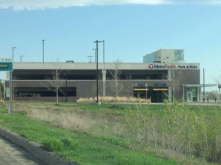 Kenrick Avenue Park and Ride (Metro Transit station)