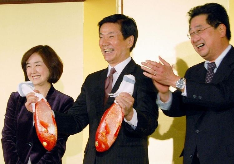 Kensaku Morita Chiba Gov Morita returned for third fouryear term The Japan Times
