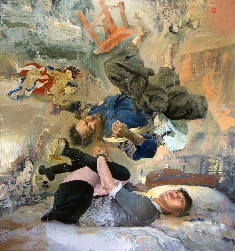 Kent Williams (artist) ArtSheep Features Kent Williams39 Dreamy Worlds of
