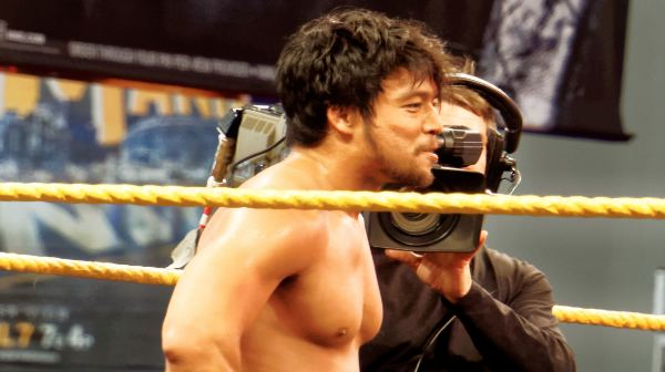 Hideo Itami WATCH Hideo Itami Returns to the Ring Tonight at WWE NXT Event in
