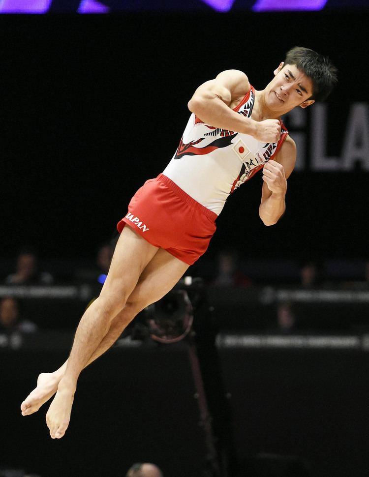 Kenzō Shirai Shirai claims gold in men39s floor exercise The Japan Times