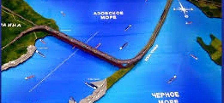 Kerch Strait Bridge Crimean Kerch Strait bridge construction new Videos The Vineyard