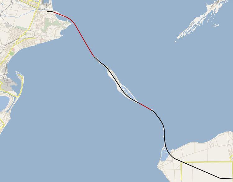Kerch Strait Bridge Kerch Strait Bridge Wikipedia