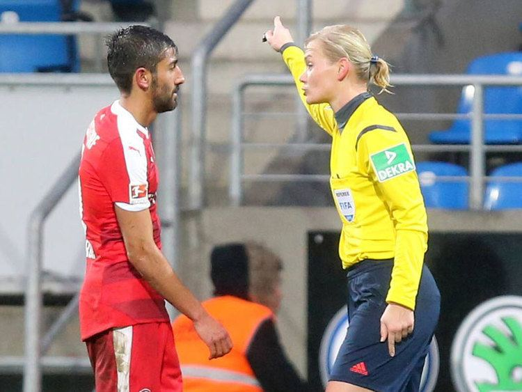 Kerem Demirbay Fortunas Kerem Demirbay may referee a womens match as punishment