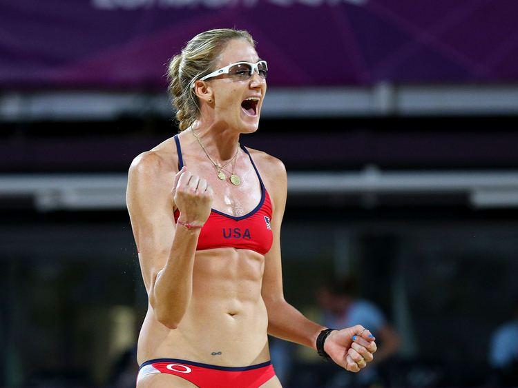 Kerri Walsh Jennings Beach volleyball gold medalist Kerri Walsh Jennings I was