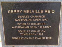 Kerry Melville Kerry Melville Reid Monument Australia