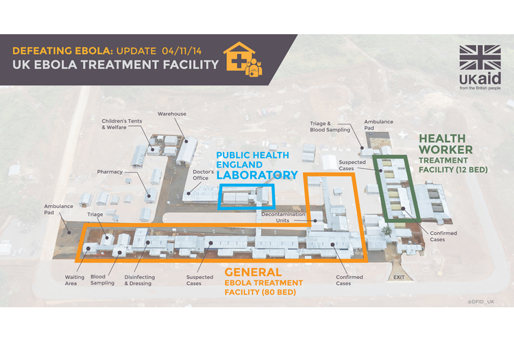 Kerry Town First British Ebola treatment facility opens in Sierra Leone GOVUK