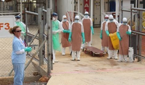 Kerry Town Sierra Leone training a central pillar in Ebola fight Save the