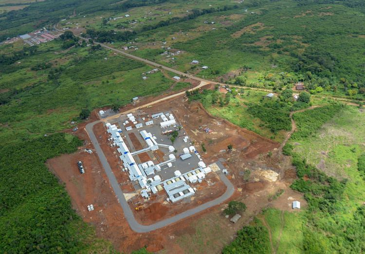 Kerry Town Aerial photograph of the Kerry Town Ebola Treatment Centre Flickr