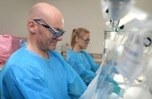 Kerry Town New British Ebola labs to help stop spread of virus GOVUK