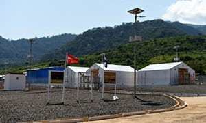 Kerry Town UK Ebola patient39s infection a fresh setback for Sierra Leone clinic