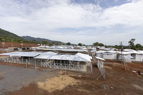 Kerry Town Sierra Leone new Ebola treatment centre gives hope Save the
