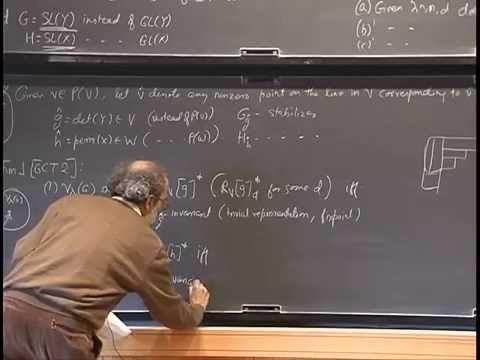 Ketan Mulmuley Ketan Mulmuley On P vs NP Geometric Complexity Theory and the