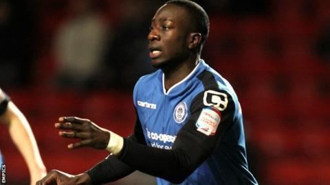 Kevin Amankwaah Exeter City sign defenders Kevin Amankwaah and Pat Baldwin BBC Sport