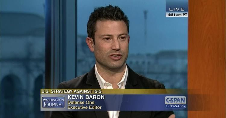Kevin Baron (journalist) Washington Journal Kevin Baron US Strategy ISIS CSPANorg
