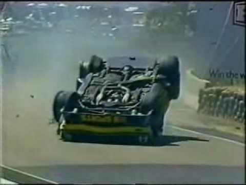 Kevin Bartlett (racing driver) Bathurst 1982 Kevin Bartlett Roll Over footage interviews