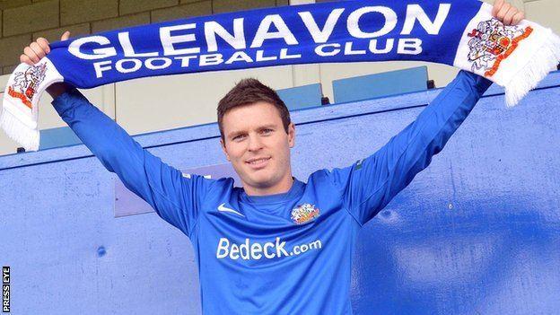 Kevin Braniff BBC Sport Glenavon sign former Portadown striker Kevin