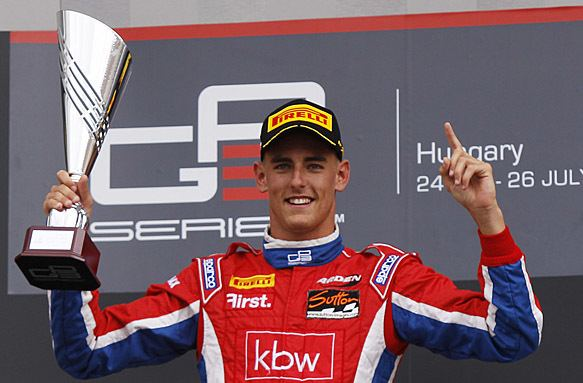 Kevin Ceccon GP3 Hungary Kevin Ceccon takes second consecutive sprint