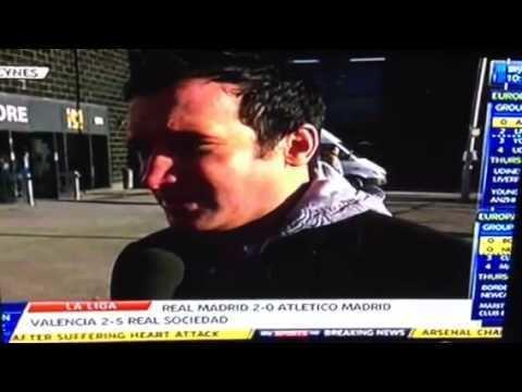 Kevin Cooper (footballer) Sky sports news YouTube