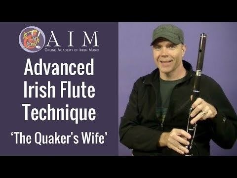 Kevin Crawford Irish Flute Lesson Quakers Wife Glottal Stop with Kevin Crawford