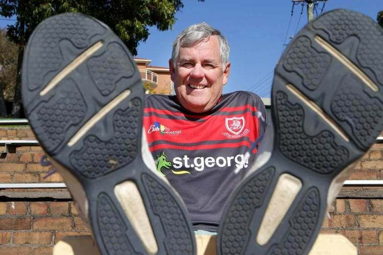 Kevin Greene (politician) Kevin Greene puts his best foot forward for St George Research