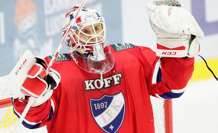Kevin Lankinen NHLesikuvalta hyvi vinkkej HIFKn Kevin Lankinen dominoi Liigassa