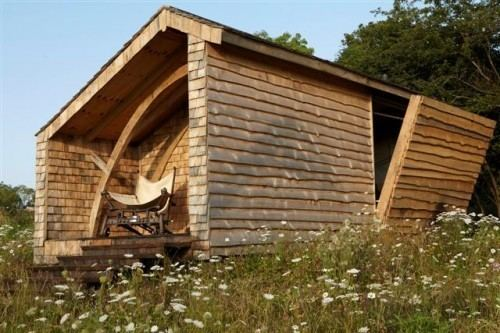 Kevin McCloud's Man Made Home One Grand Designs Blog Archive Kevin McCloud39s Man Made Home shed
