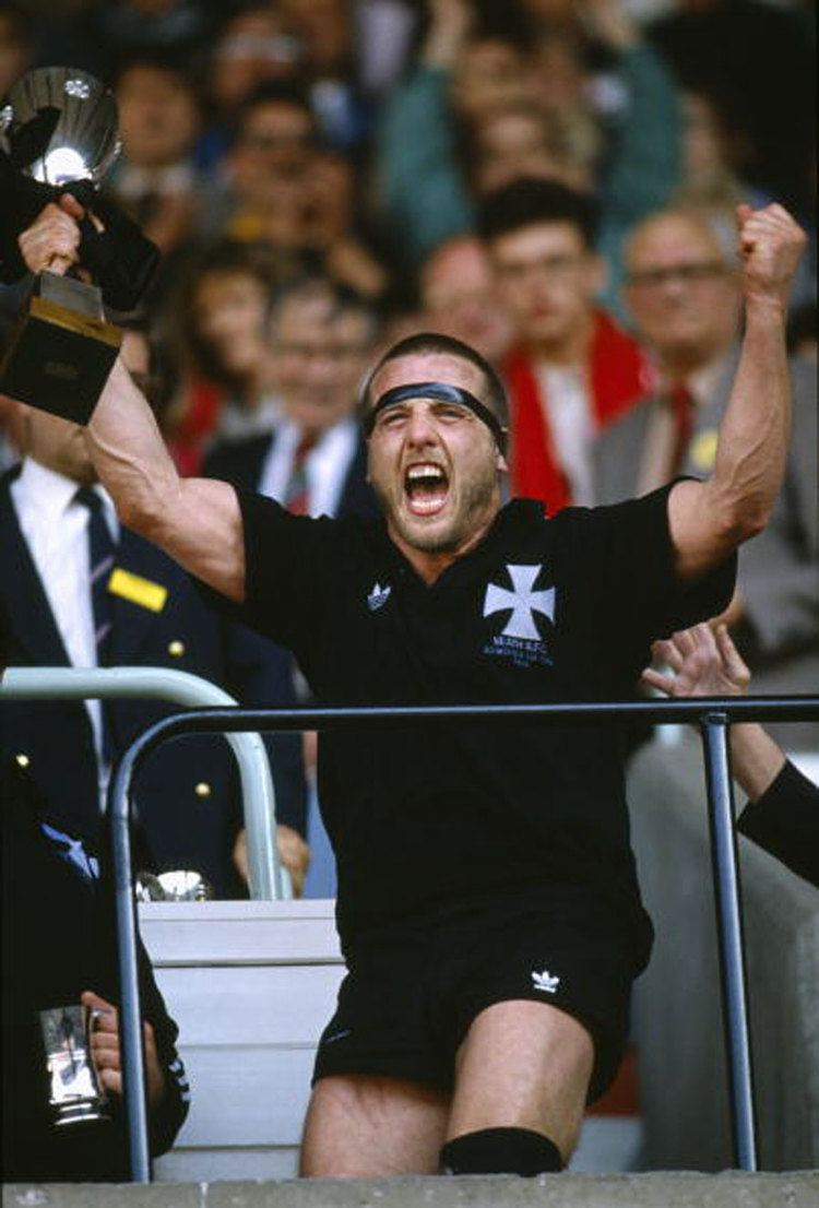 Kevin Phillips (rugby player) Neaths Kevin Phillips shows his excitement as he celebrates with