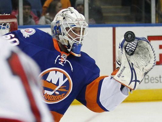 Kevin Poulin Kevin Poulin Islanders agree to oneyear twoway deal Newsday