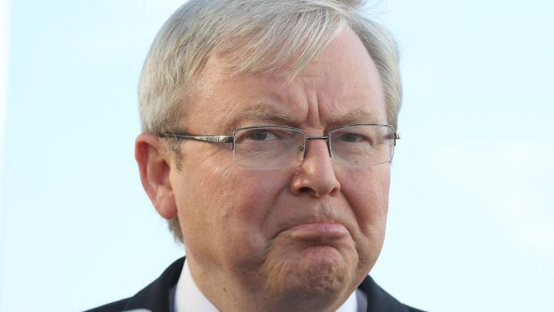Kevin Rudd Kevin Rudd breaks silence to call for 39full