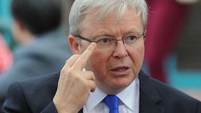 Kevin Rudd Aust facing indigenous jail epidemic Rudd SBS News