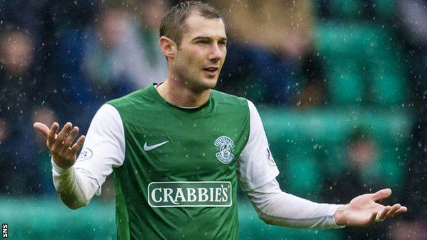Kevin Thomson BBC Sport Hibernian Kevin Thomson free to leave Easter Road