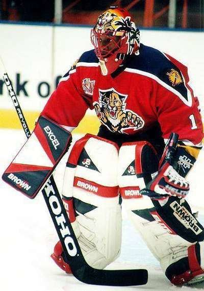 Kevin Weekes Florida Panthers goaltending history Kevin Weekes