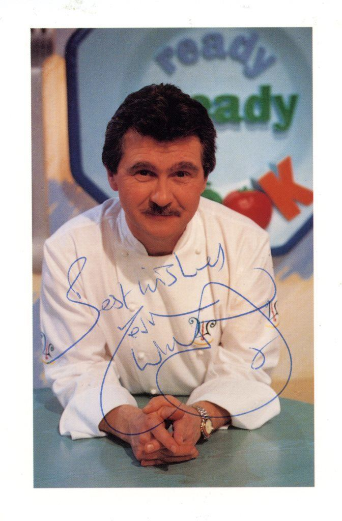 Kevin Woodford Kevin Woodford Ready Steady Cook Signed Picture