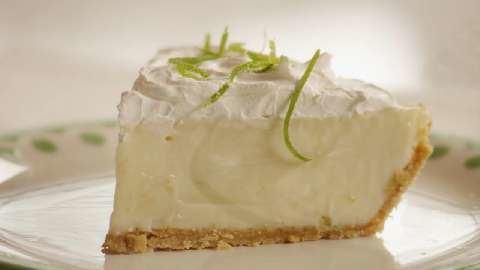 Key lime pie Key Lime Pie VII Recipe Allrecipescom