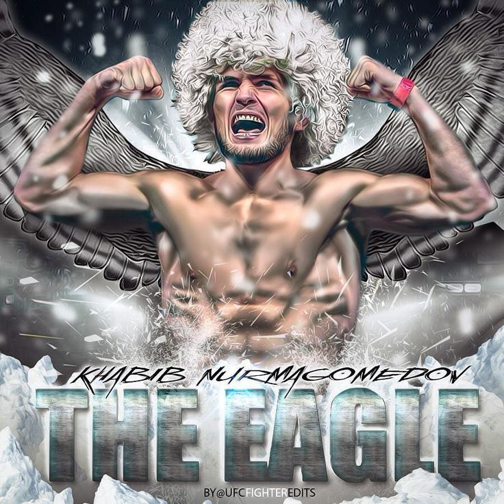 Khabib Nurmagomedov fanmade digital art of Khabib Nurmagomedov if you love MMA you