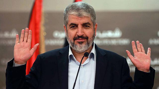 Khaled Mashal Hamas leader Longterm ceasefire negotiations are