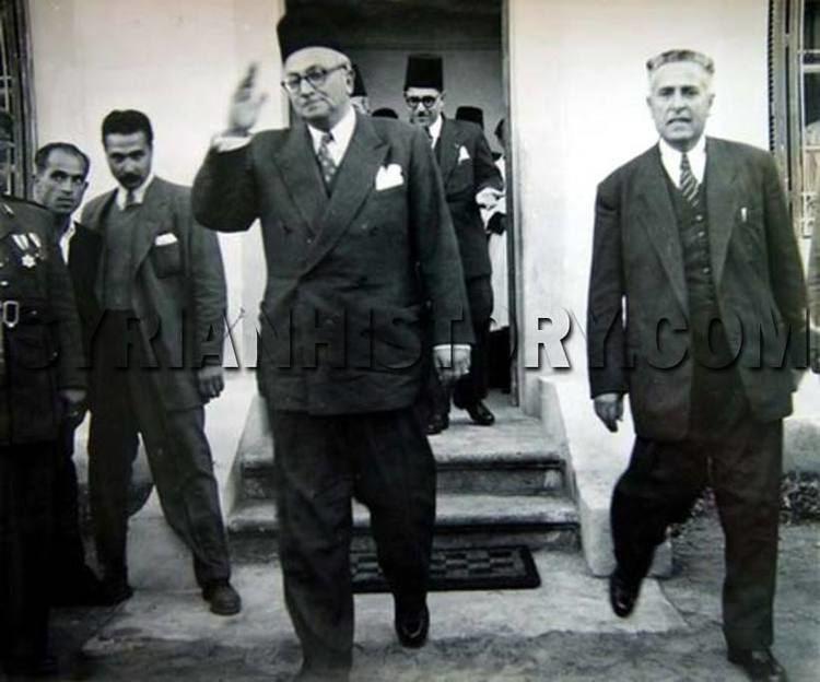 Khalid al-Azm Syrian History Syrian Prime Minister Khalid alAzm in 1950