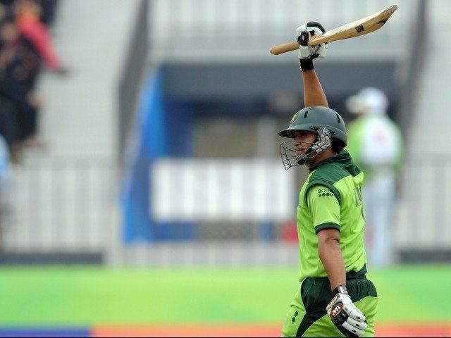 Khalid Latif (cricketer) Tonup Latif leads Pakistan to mauling of China The