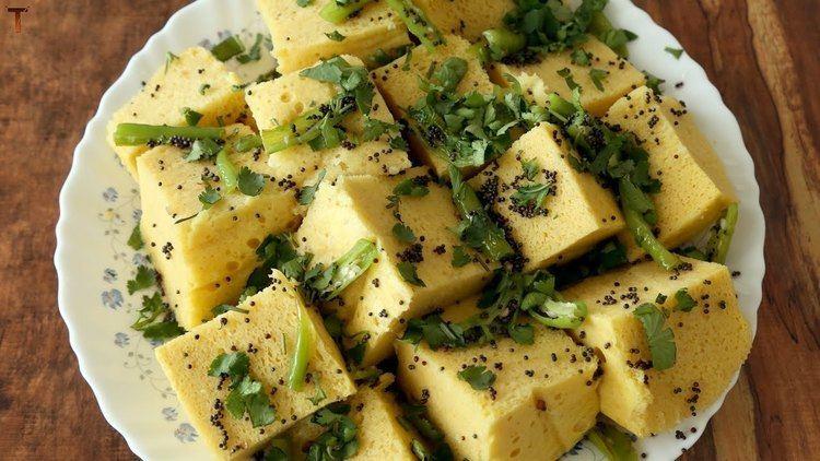 Khaman Gujarati Khaman Dhokla Nylon Khaman Quick and Easy Recipe By