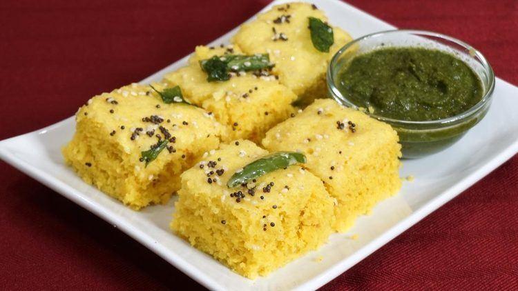 Khaman Khaman Besan Dhokla Manjula39s Kitchen Indian Vegetarian Recipes