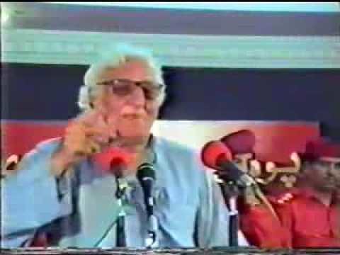 Khan Abdul Wali Khan PUKHTOON39s HERO KHAN ABDUL WALI KHAN BABA YouTube