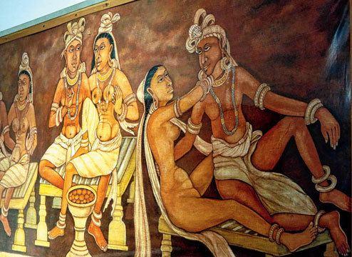 Kharavela Life of king Kharavela on canvas