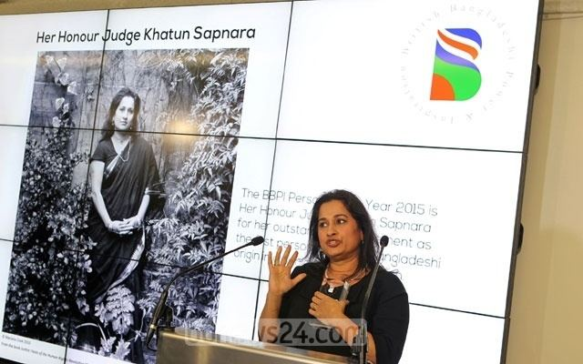 Khatun Sapnara Judge Khatun Sapnara first ever BBPI Person of the Year bdnews24com