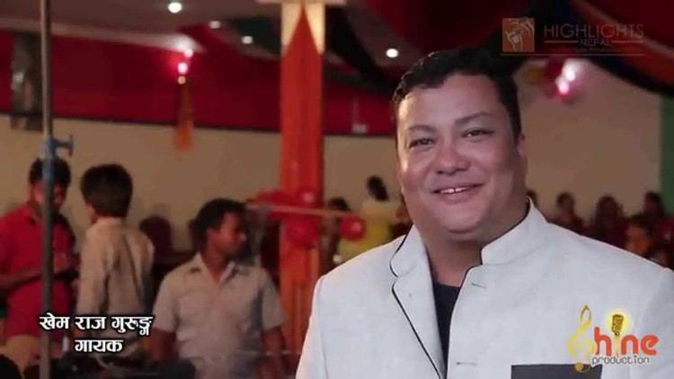 Khem Raj Gurung Teej Najikai Aaisakyo Shooting Report Khem Raj Gurung Rima