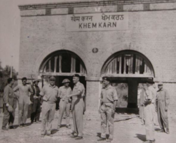 Khemkaran in the past, History of Khemkaran