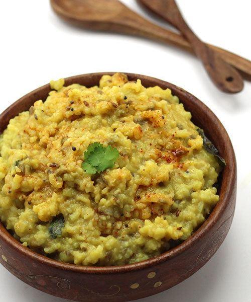Khichdi Masala Khichdi Recipe Deliciously Spicy Khichdi Sauted in Ghee