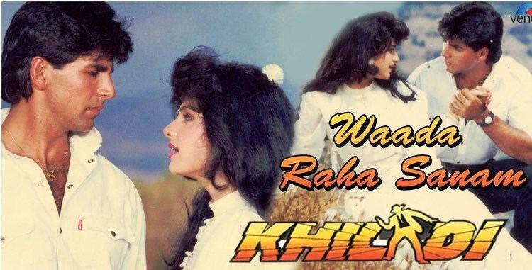 Wada Raha Sanam Film Khiladi 1992 Romantic song YouTube